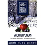 Werder Frucht Glühwein 10 Liter Einweg Bag in Box BIB verschiedene Sorten Geschmack Kinderpunsch