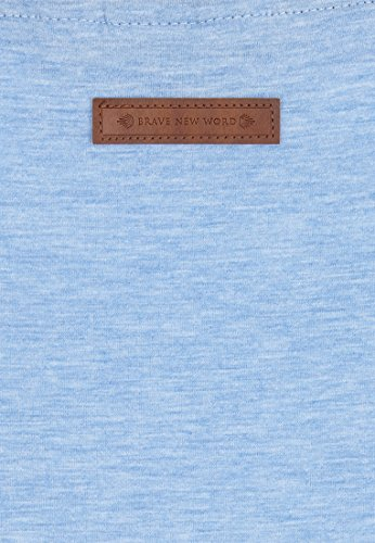 Naketano Female Shortsleeve Wolle X Amazing Blue Melange