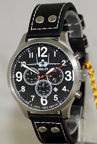 MIG 29 Aviator Chrono Armbanduhr - Sonderedition - limitierte Auflage