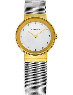 Bering Time Damen-Armbanduhr XS Classic Analog Quarz Edelstahl 10122-001