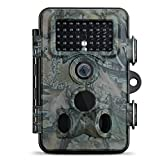 """Trail Camera, VicTsing® 12MP 1080P HD IP66 Waterproof Infrared Bushnell Game & Wildlife Spy Camera with 42 Pcs Black LEDs 120° Wide Angle Super Night Vision, 2.4"""" LCD Display Nature Surveillance Outdoor Hunting Camera Trap - VicTsing - amazon.co.uk"""