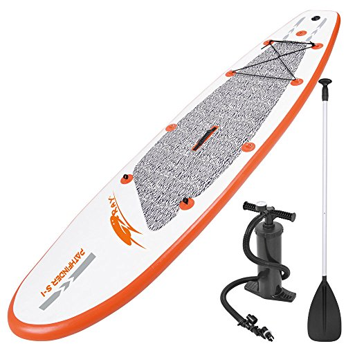 Jilong SUP inflatable Stand Up Paddle Board Pathfinder ZRAY S-I 300 + Paddel + Pumpe + Tragetasche, 27265