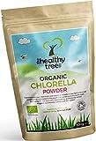 Polvere di Chlorella BIO - Alta in Clorofilla, Proteine, Ferro e Aminoacidi - Perfetta in Succhi Verdi e Smoothies - Polvere di Pura Chlorella Biologica Certificata nel Regno Unito da TheHealthyTree Company