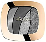 L'Oréal Paris Color Riche Quads Eyeshadow, S11 Fascinating Silver - Lidschatten Palette für ein intensives, sinnliches Farbergebnis - 1er Pack (1 x 2,5g)