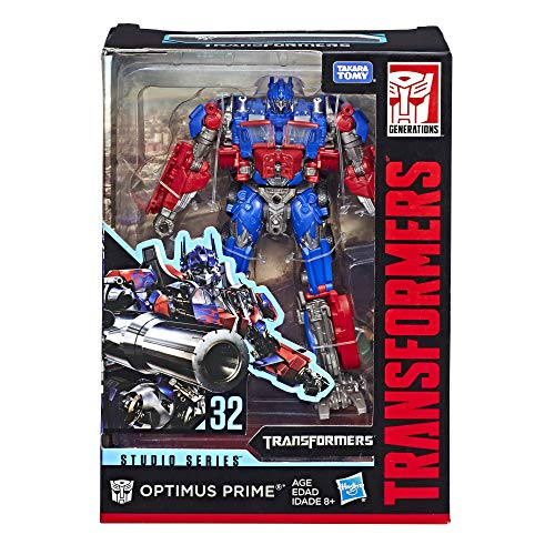 Transformers Studio Series - Robot Voyager Optimus Prime Camion - 20cm - Jouet transformable 2 en 1