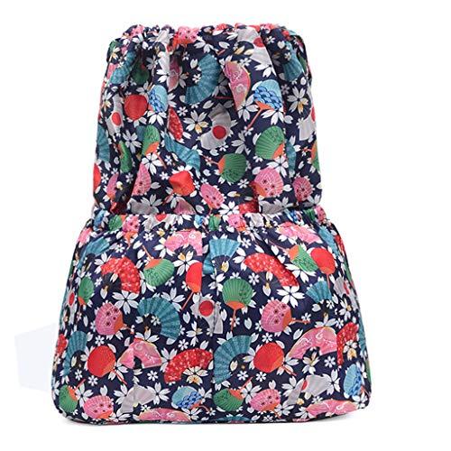 her Stil Drucken Wasserdicht Nylon Daypack Rucksack Schultaschen Tagesrucksack Handtaschen Umhängetasche Reiserucksack für Schule Reise Arbeit (B2, Eine Größe) ()