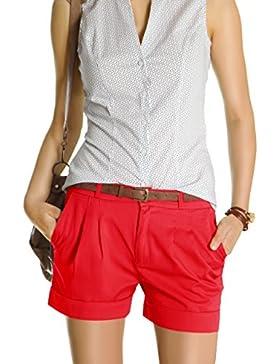 Bestyledberlin Pantalocini corti con cintura j161p