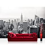 Vlies Fototapete 350x245 cm PREMIUM PLUS Wand Foto Tapete Wand Bild Vliestapete - MANHATTAN SKYLINE no.2 - New York City USA Amerika Empire State Building Big Apple - no. 118