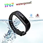 LIGE Pulse HR Fitness Tracker Activity Watch And Heart Rate Monitor Waterproof Touch Screen Smart Bracelet For Women Men Kids With Sleep Monitor Pedometer Step Calorie Counter IPhone Android