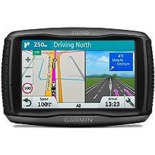 """Garmin Zumo 595LM EU - Navegador GPS con mapas por Vida (Pantalla de 5"""", Mapa Europa Completo), Color Negro (Reacondicionado Certificado)"""