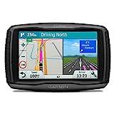 Garmin Zumo 595LM EU Navigatore per Moto Avanzato, Mappa Italia e Europa Completa, Spotify e Funzioni Smart, Display 5.0', Nero/Grigio