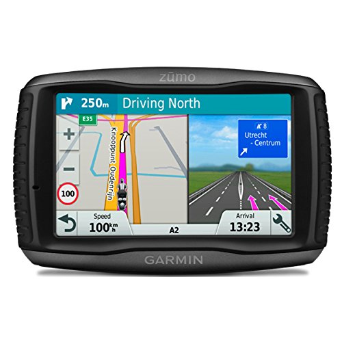 Garmin zumo 595LM EU Motorradnavigationsgerät - 5'' Touchscreen, lebenslange Kartenupdates, Smart Notifications