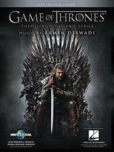 Game of Thrones: Theme from the Hbo Series; Alto Sax Solo, Piano