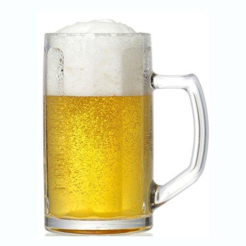 Ritzenhoff & breker brema boccale da birra, bicchiere da birra, boccale di birra, bicchiere, vetro, trasparente, 400ml, 678352