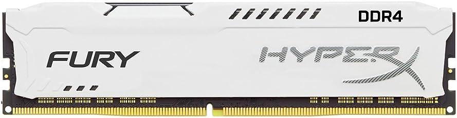 Kingston Technology HyperX FURY White 8GB 2400MHz DDR4 CL15 DIMM 1Rx8 (HX424C15FW2/8)