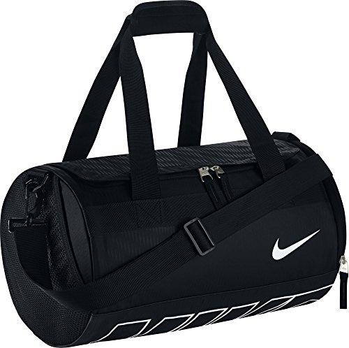 Nike Herren Sporttasche Alpha Adapt DRM Mini Duffel, Black/White, 40 x 23 x 23 cm, 19 Liter, BA5185-010