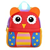 Yeelan Waterproof School Bag/Backpack for Children (owl)