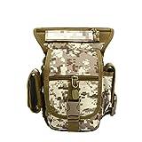 ZSBB Zaino da Viaggio Versione aggiornata di Borsa Multi-Funzione in Vita Borsa a Tracolla Portatile Kit di Attrezzi Tattici Militari ventilatori Outdoor Outdoor Sport ricreativi, Desert Digitale