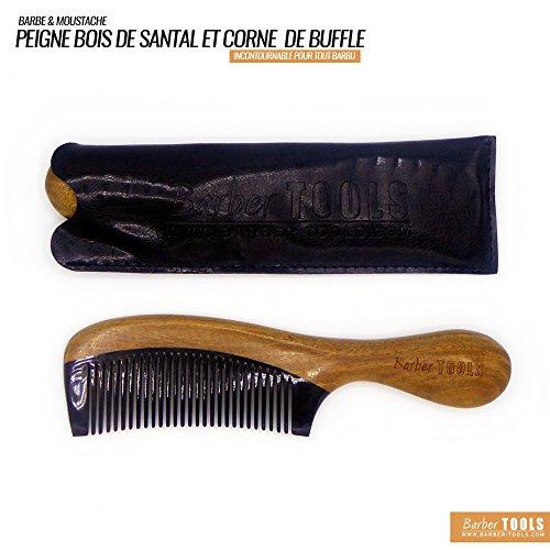 ✮ Barber Tools ✮ Peine barba bigote madera sándalo