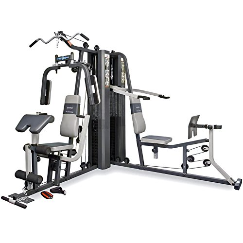 51YmVyhW4zL. SS500  - Marcy GS99 Dual Stack Home Gym (Leg Press, 2 Users), 2 x 65 kg