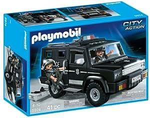 Playmobil Les Policiers - 5974-Fourgon De Police