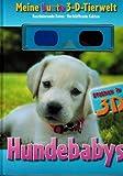 Meine bunte 3D Tierwelt Thema: Hundebabys Staunen in 3D