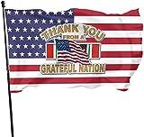 Bandiera Americana Fly Breeze 3x5 Foot - Militare Grazie ad Una Nazione riconoscente Operazione irachena libertà irachena OIF fustigata
