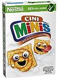 Nestlé Cini Minis | Zimt Müsli | 32% vitales Vollkorn | Mit Vitaminen, Calcium und Eisen | Krunchy Knusper Flakes | 7er Vorratspack (7 x375 g)
