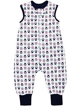 TupTam Unisex Baby Winter Schlafsack mit Beinen