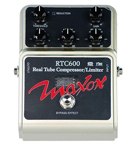 MAXON RTC600 REAL TUBE COMPRESSOR E-Gitarren-Effekte Compression - Sustainer