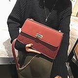 GMYAN Lady Vogue Rhombus Holding Eine Tasche mit Einer umhängetasche,des