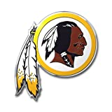 Washington Redskins Color Auto Emblem–Die Cut