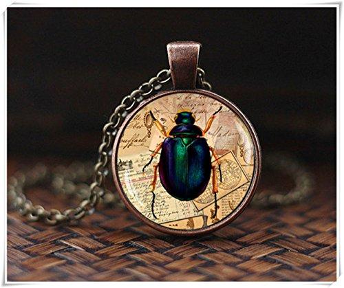(heng yuan tian cheng Insekten Halskette, Bug Halskette, Insekten Schmuck, The Bug Anhänger, Bug Schmuck,)