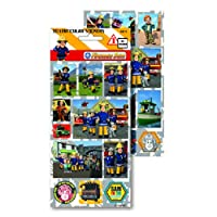 Fireman Sam 3D Lenticular Stickers Large 3-8 years