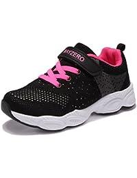 Chaussure de Course Sport Walking Shoes Running Compétition Entraînement Chaussure à la Mode, Sneakers Basket Chaussure Scolaire l'école pour Garçon et Fille Enfant