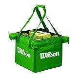 Wilson Cesto per Palline da Tennis, Tennis Teaching Bag Capacità 150 palline, Verde, WRZ541200