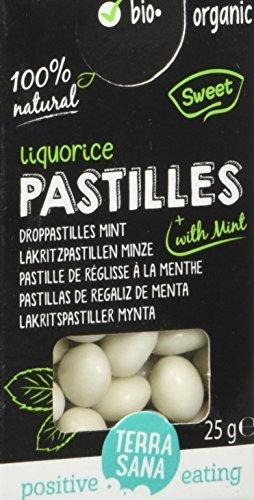 Terrasana Pastilles de Réglisse Menthe Bio 25 g