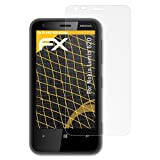 atFoliX Pellicola Protettiva per Nokia Lumia 620 Protezione Pellicola dello Schermo, antiriflesso e Ammortizzante FX Pellicola Proteggi (3X)