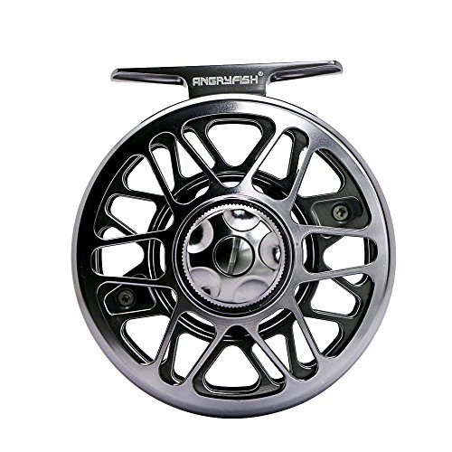 ANGRYFISH Fly Angelrolle mit CNC gefr?stes Aluminium Body 3/4, 5/6, 7/8, 9/10(FR9/10) (Fly Reel Bearbeitet)