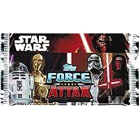"""Topps Star Wars Force Attax Movie serie 7 """"el despertar de la fuerza"""" - con 1 tarjeta de Collection reactogenicidad 10 tarjetas por cada salida en paquete"""