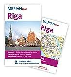 MERIAN live! Reiseführer Riga: MERIAN live! - Mit Kartenatlas im Buch und Extra-Karte zum Herausnehmen