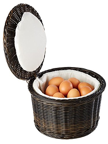 "Eierkorb ""PROFI LINE"" für ca. 20 Eier, aus Polypropylen mit Draht aus Edelstahl am Rand / Ø 26 cm, Höhe: 17 cm | SUN"