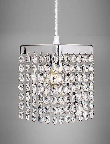 suhang plafonniers 60 W max. Temps genã ¶ ssisch Suspension LED cristal//Mini style galvanoplastie Métal Leuchten Salon/Chambre/Salle À Manger/KÃ ¼ Che/, 110-120v, E27 60.0 wattsW