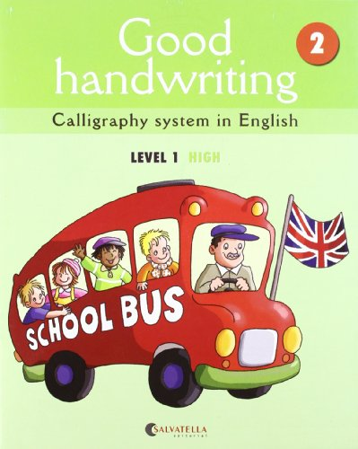 Good handwriting 2: Calligraphy system in English-level