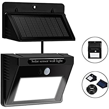 Matone solar lights motion sensor security lights separable solar matone solar lights motion sensor security lights separable solar panel waterproof solar powered lights aloadofball Image collections