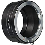 Fotasy EMPK Fotasy Pentax PK Lens to Canon EOS-M Mirrorless Digital Camera M1 M2 M3 Adapter (Black)