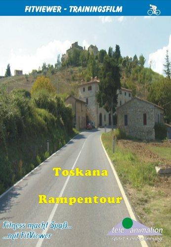 Toskana - Rampentour - FitViewer Indoor Video Cycling Italien