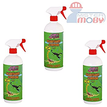 REPOUSSANT DISSUASIF ANTI SCORPIONS PRODUIT SPRAY NATURAL 3x 500ML