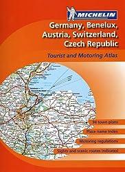 Michelin Atlas Germany/Benelux/Austria/Switzerland/Czech Republic