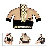 Elektrisches Heizkissen für Schulter und Nacken - knetende Heizung, schmerzlinderndes Heizkissen, medizinischer Bedarfsmasseweste (für Schulterbreite: 40-65CM)